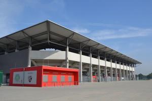 FC 04 und Theater teilen sich ab der kommenden Saison den Sportpark