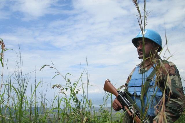 Blauhelme üben Konfliktbewältigung in Eichstätt