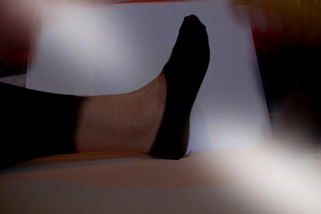 Sponsered Post: Erster Knöchelimitat-Strumpf auf dem Markt